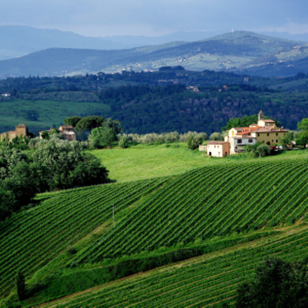 Chianti countryside, Pentax K10D, smc PENTAX-F 35-105mm F4-5.6