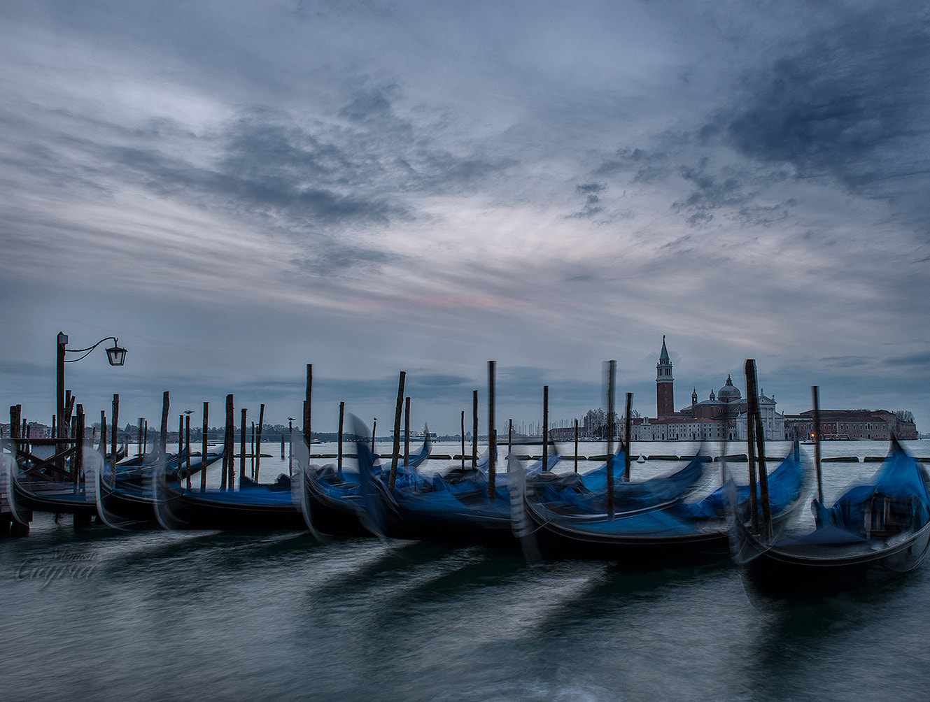 Photograph Blue Hour at Venice by Manish Gajria on 500px