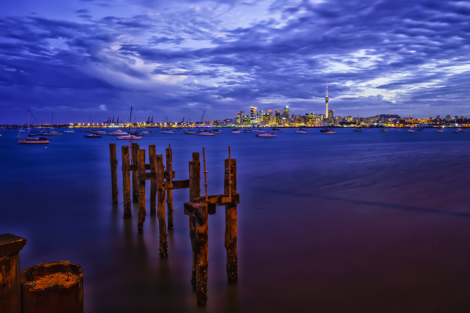 Photograph Auckland Sunset by David Newport on 500px