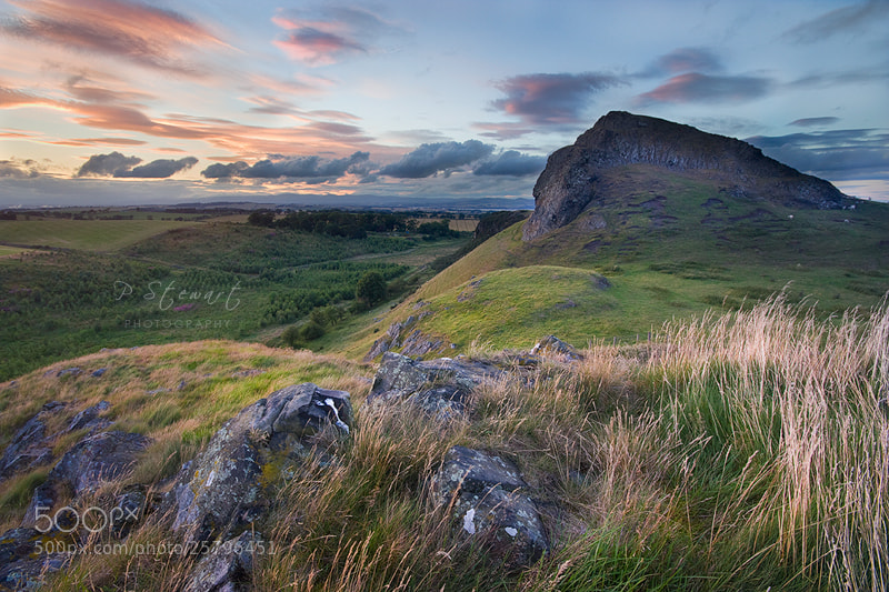 Photograph Binny Craig Sunset by Philip Stewart on 500px