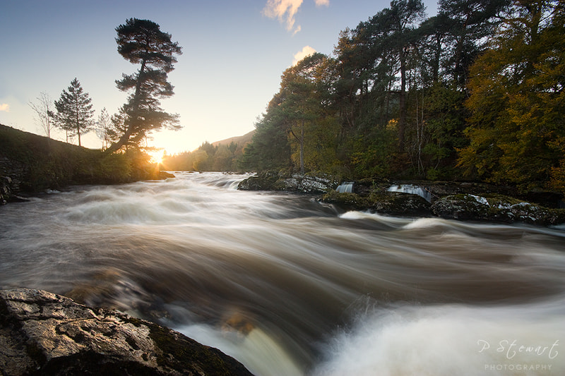 Photograph Falls of Dochart by Philip Stewart on 500px