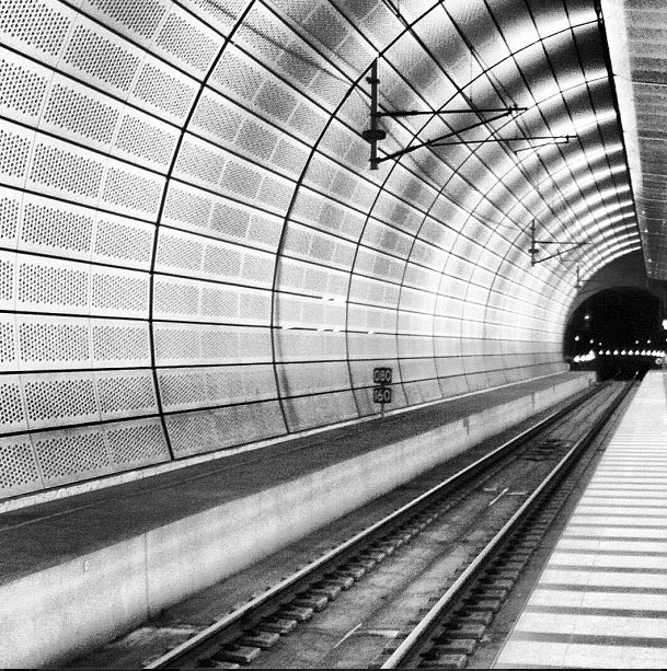 Photograph At the end of the tunnel by Micaela Landelius on 500px