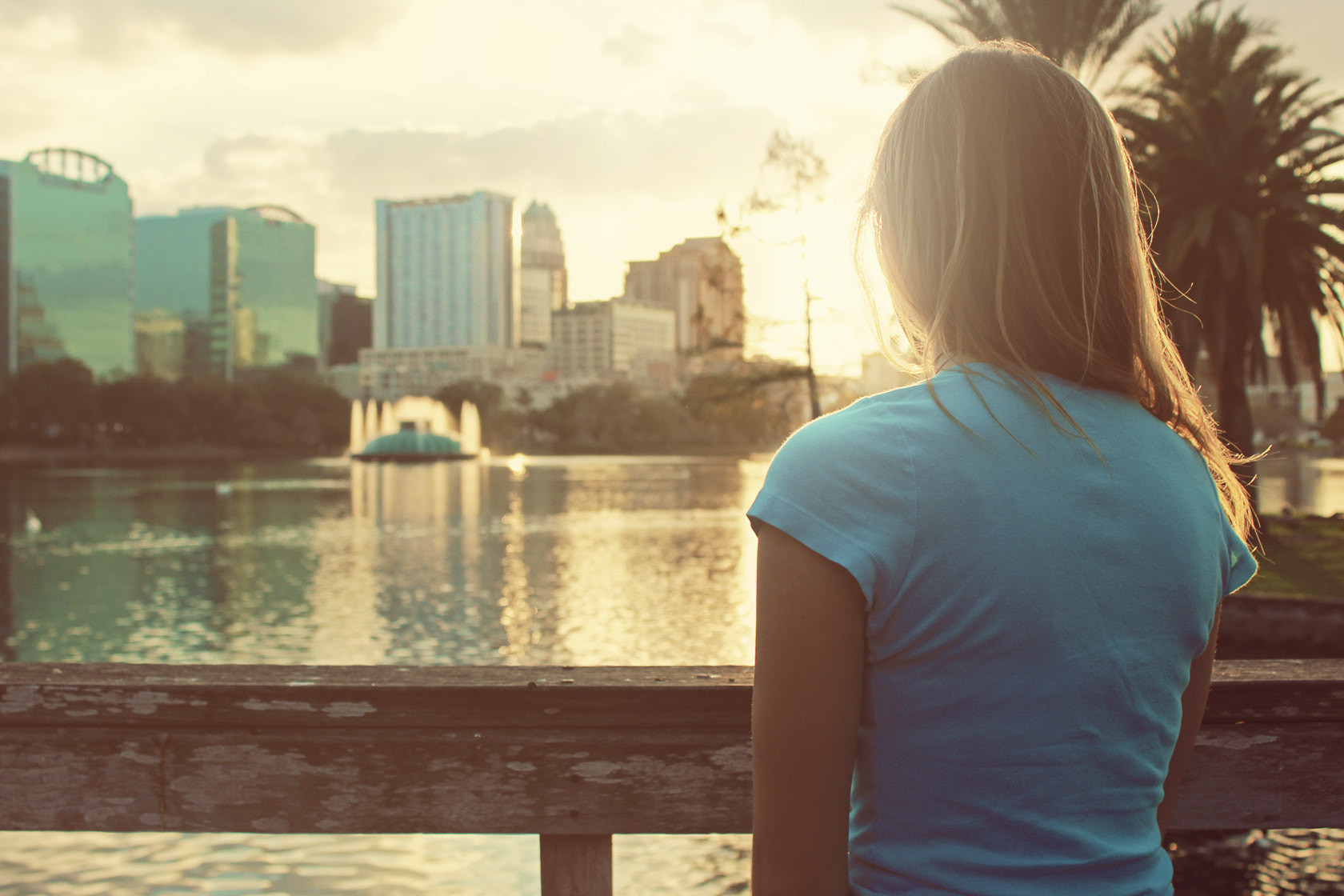 Photograph Watching Lake Eola by Cody Sanfilippo on 500px