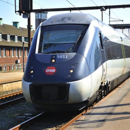 Danish IC4 Train, Nikon D3, Sigma 50-500mm F4-6.3 EX APO RF HSM