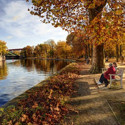 Autumn in Charlottenburg Park, Nikon D600, AF-S Nikkor 18-35mm f/3.5-4.5G ED