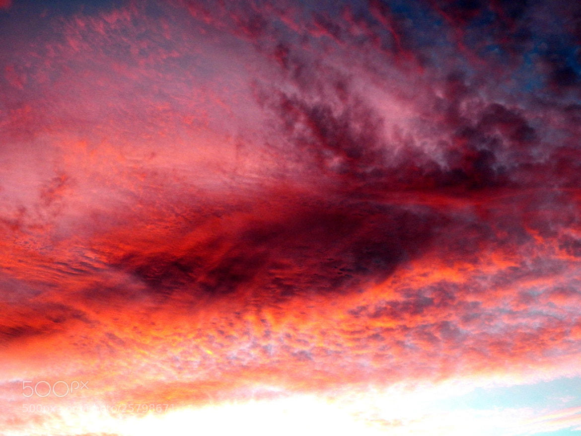 Photograph Red Cotton Sky by Doug Kimmel on 500px