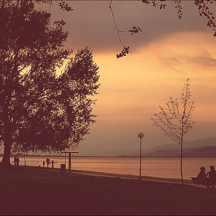 Trasimeno - Evening., Nikon COOLPIX L19