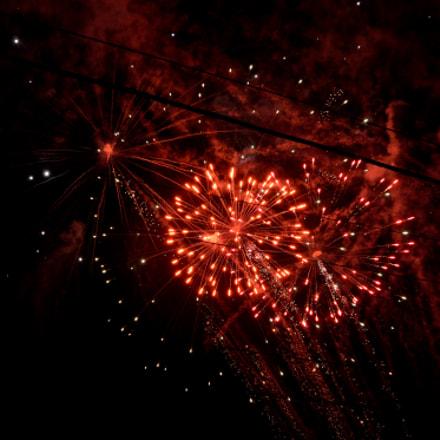 Fireworks, Nikon D5100, Sigma 18-250mm F3.5-6.3 DC OS HSM