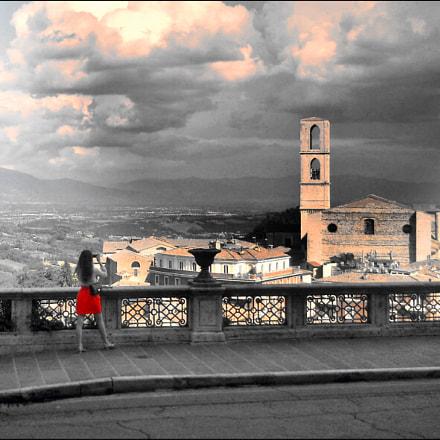 Clouds., Nikon COOLPIX L21