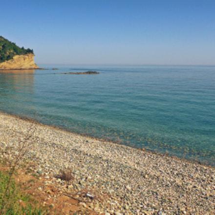 Lonely Beach Agios Georgios, Panasonic DMC-FT5