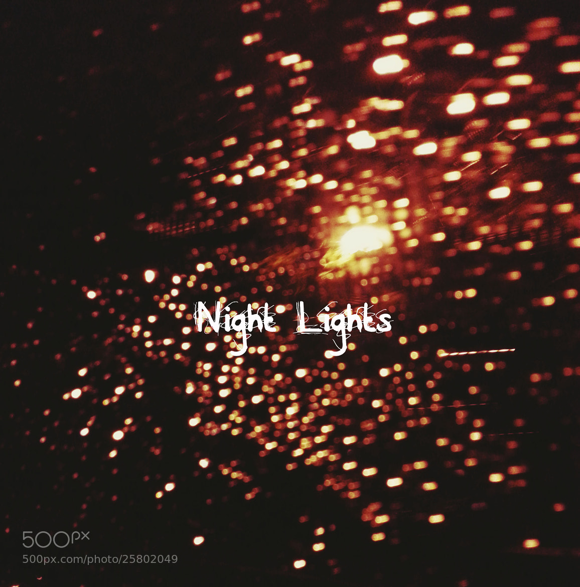 Photograph Night Lights by Marisa Nourbese on 500px