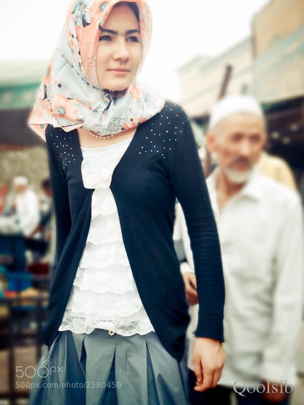 Photograph Uyghur girl by raz has on 500px
