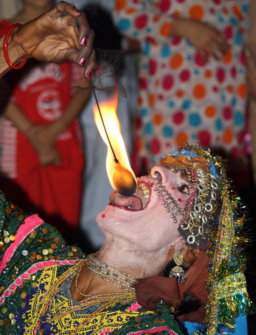 Photograph The Fire Breather. by Abbi Khan on 500px