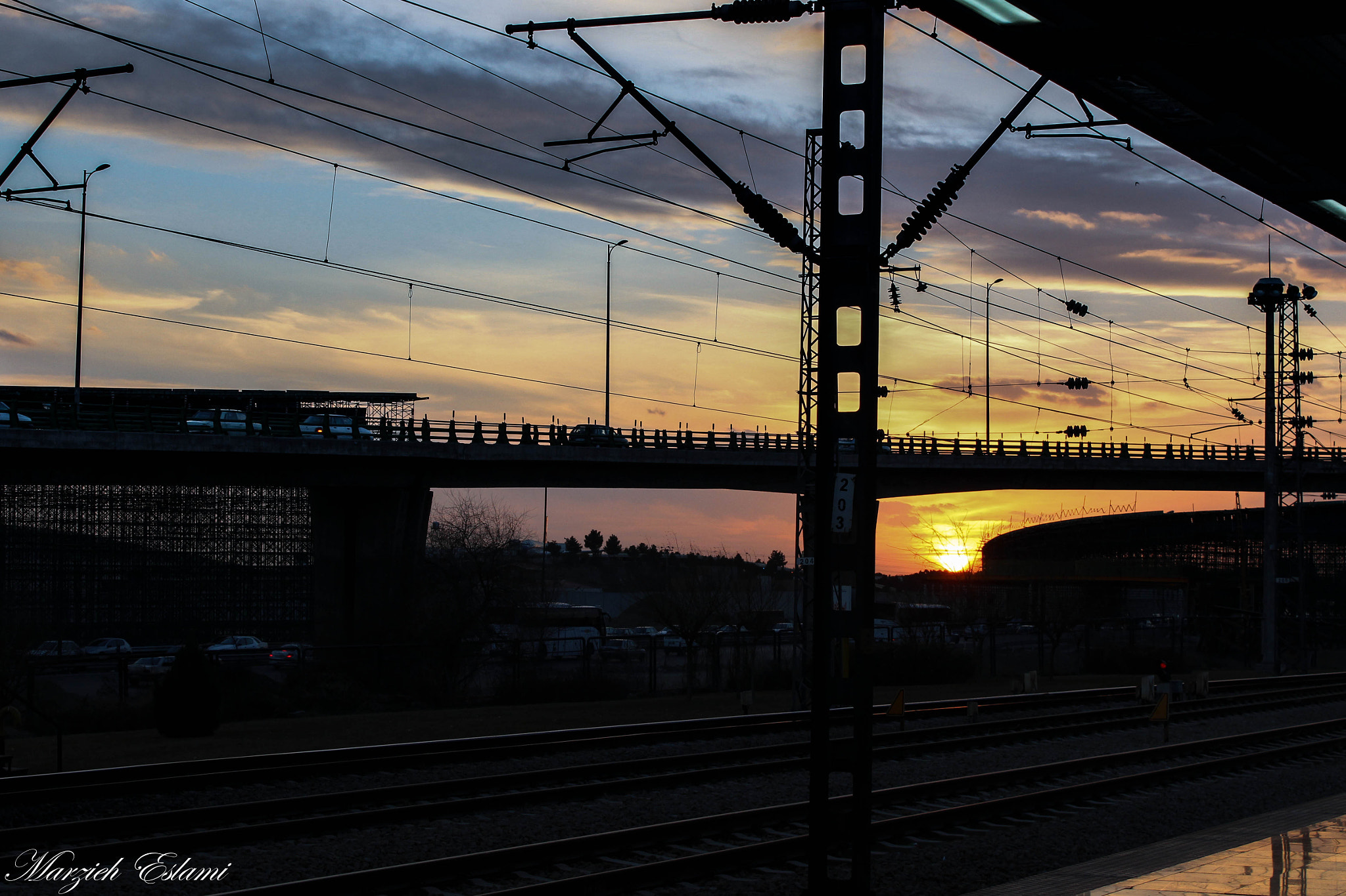 Photograph Sunset in metro station  by Marzieh Eslami on 500px