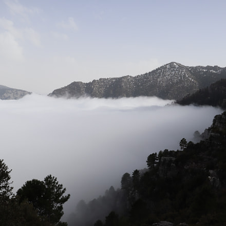 Above the clouds on, Canon EOS M50, Canon EF-M 11-22mm f/4-5.6 IS STM