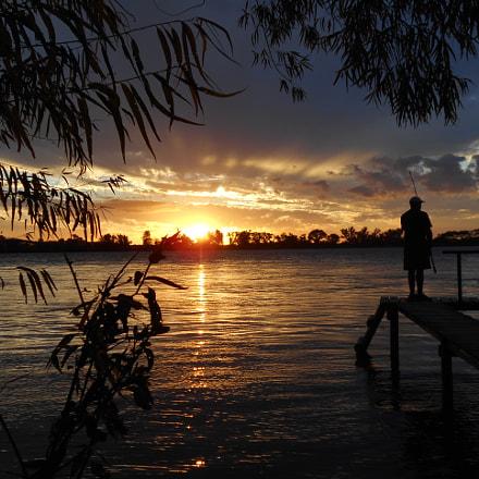 """"""" El pescador"""", Nikon COOLPIX S2800"""