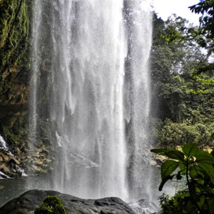 chiapas waterfall, Nikon COOLPIX S220