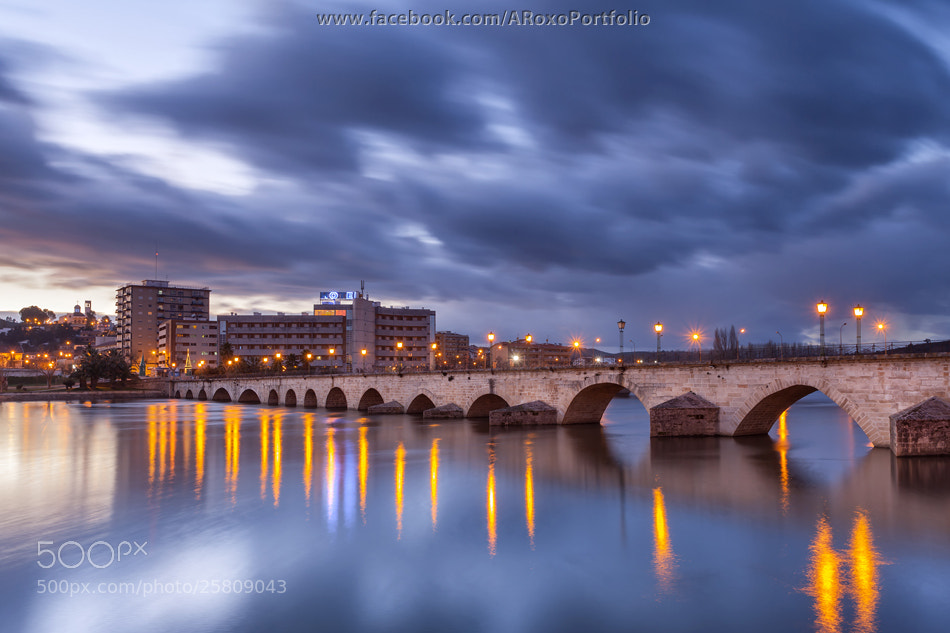 Photograph Mirandela by night by Alvaro Roxo on 500px