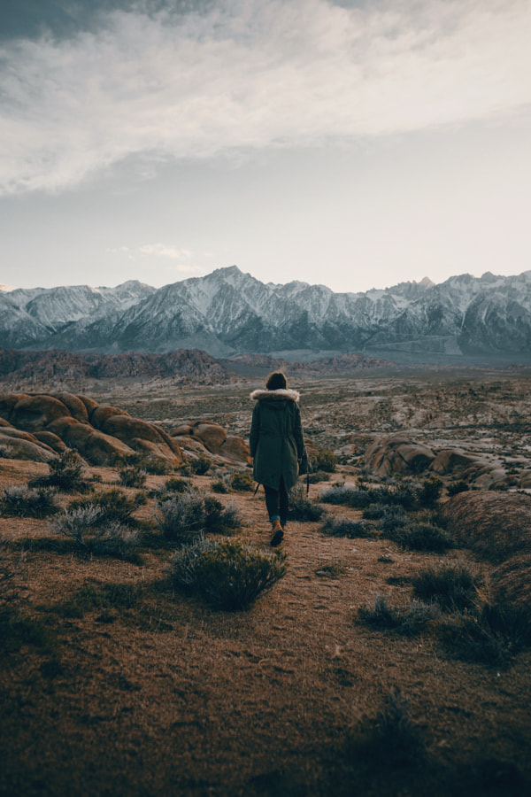 sierra desert stroll by Sam Brockway on 500px.com
