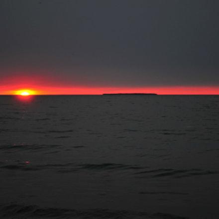 Michigan sunset, Nikon D300S, AF-S DX VR Zoom-Nikkor 18-55mm f/3.5-5.6G