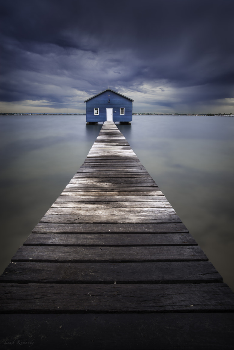 Photograph The Blue Boatshed by Leah Kennedy on 500px