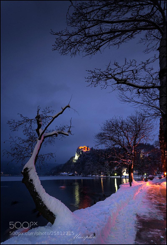 Photograph Night Walk At Bled Lake by Jaro Miščevič on 500px