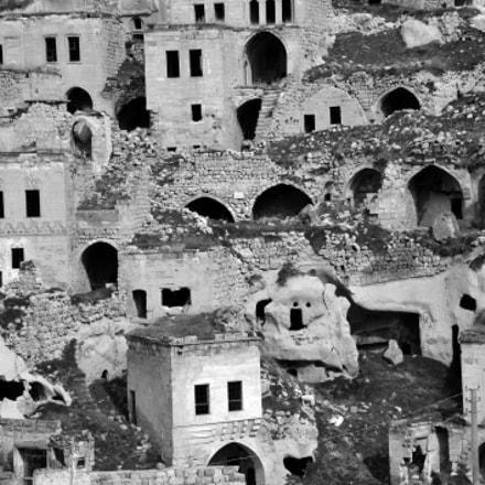 Abandoned Cappadocian city.., Nikon D700, AF-S VR Zoom-Nikkor 24-120mm f/3.5-5.6G IF-ED