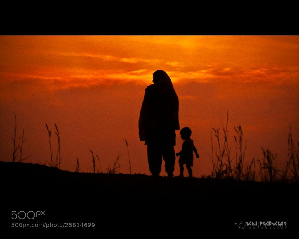 Photograph Mother, gods greatest gift ♥ by Rahul Prabhakar on 500px