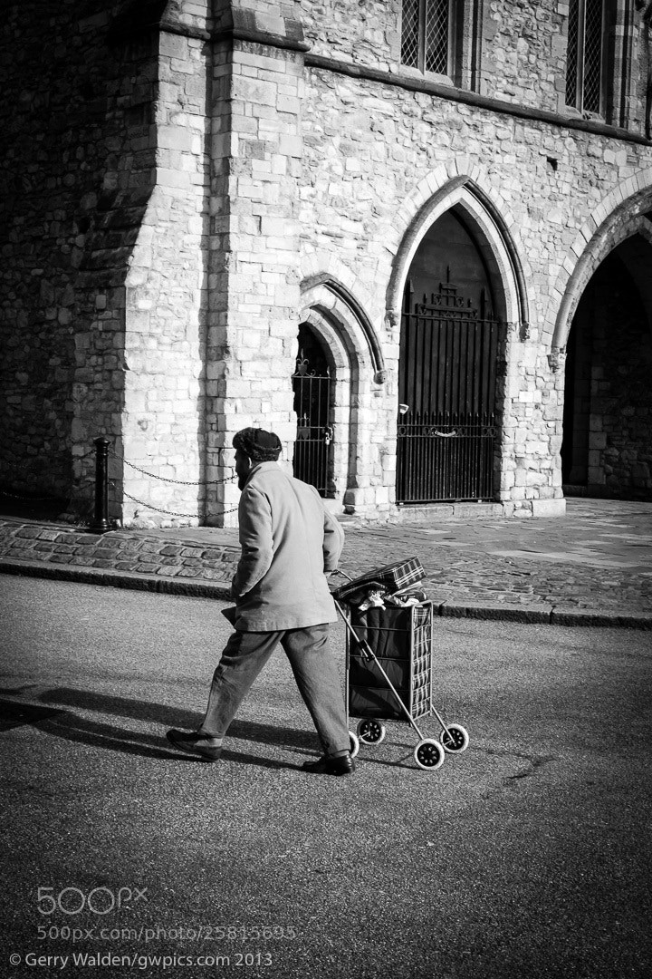 Photograph Trolley Man by Gerry Walden on 500px