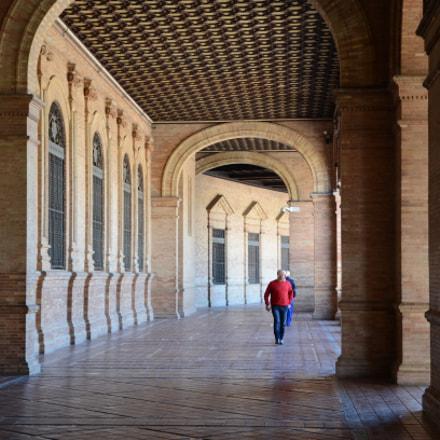 Plaza de España, Nikon D5100