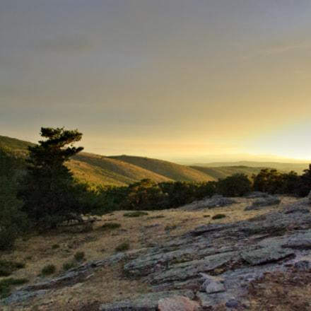Sunset at the summit..., Pentax K10D, smc PENTAX-DA 18-55mm F3.5-5.6 AL