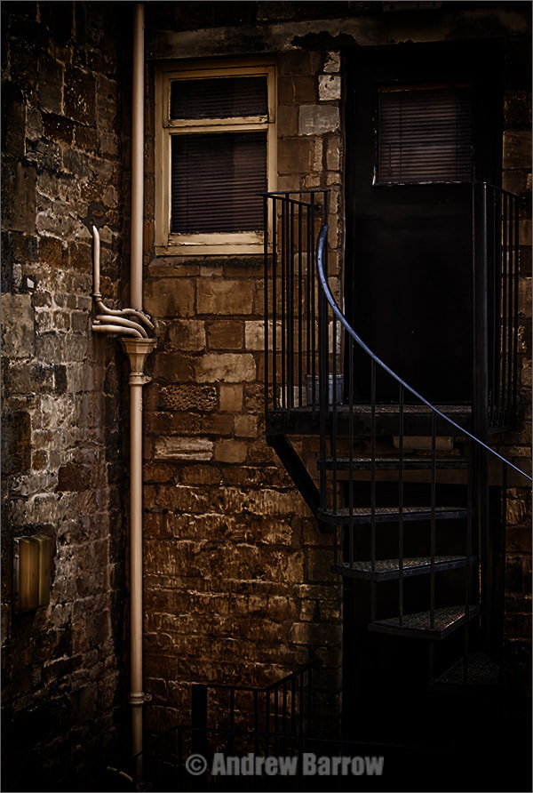 Photograph Fire Escape by Andrew Barrow LRPS on 500px