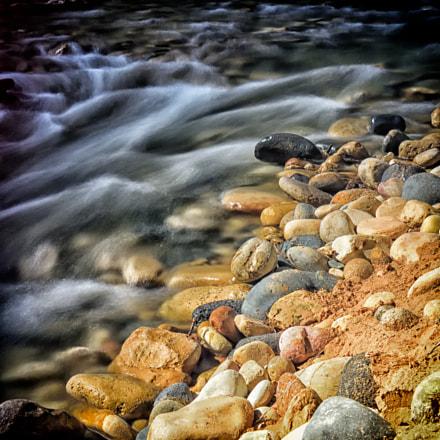 Rushing Virgin River, Nikon D810, AF-S Nikkor 35mm f/1.4G
