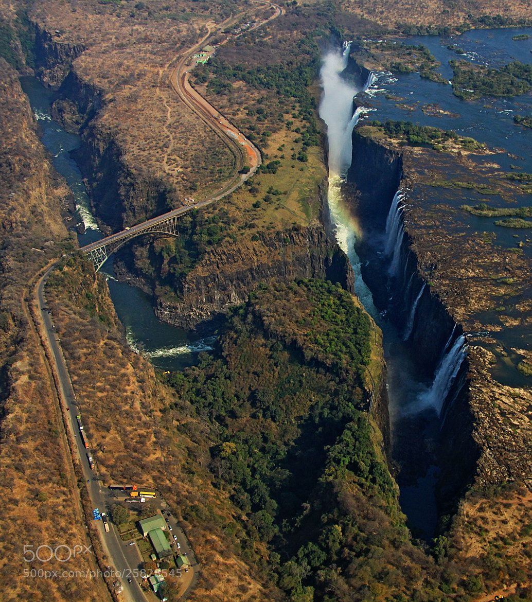 Photograph Victoria falls by Blaz Crepinsek on 500px