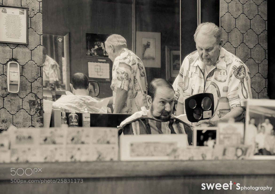 Photograph The Barbershop by Janou_Zoet on 500px