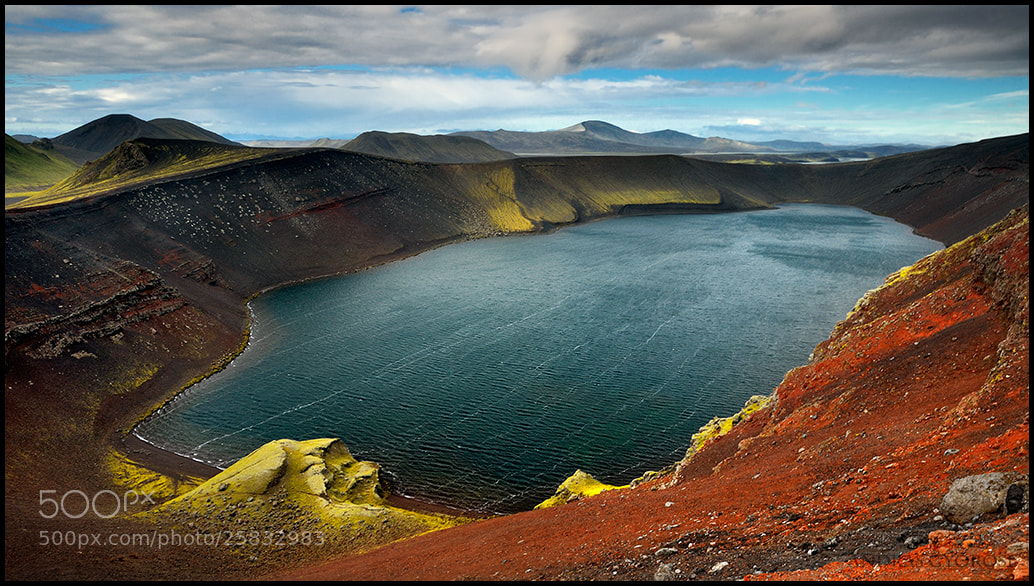 Photograph Ljotipollur crater by Andras Gyorosi on 500px