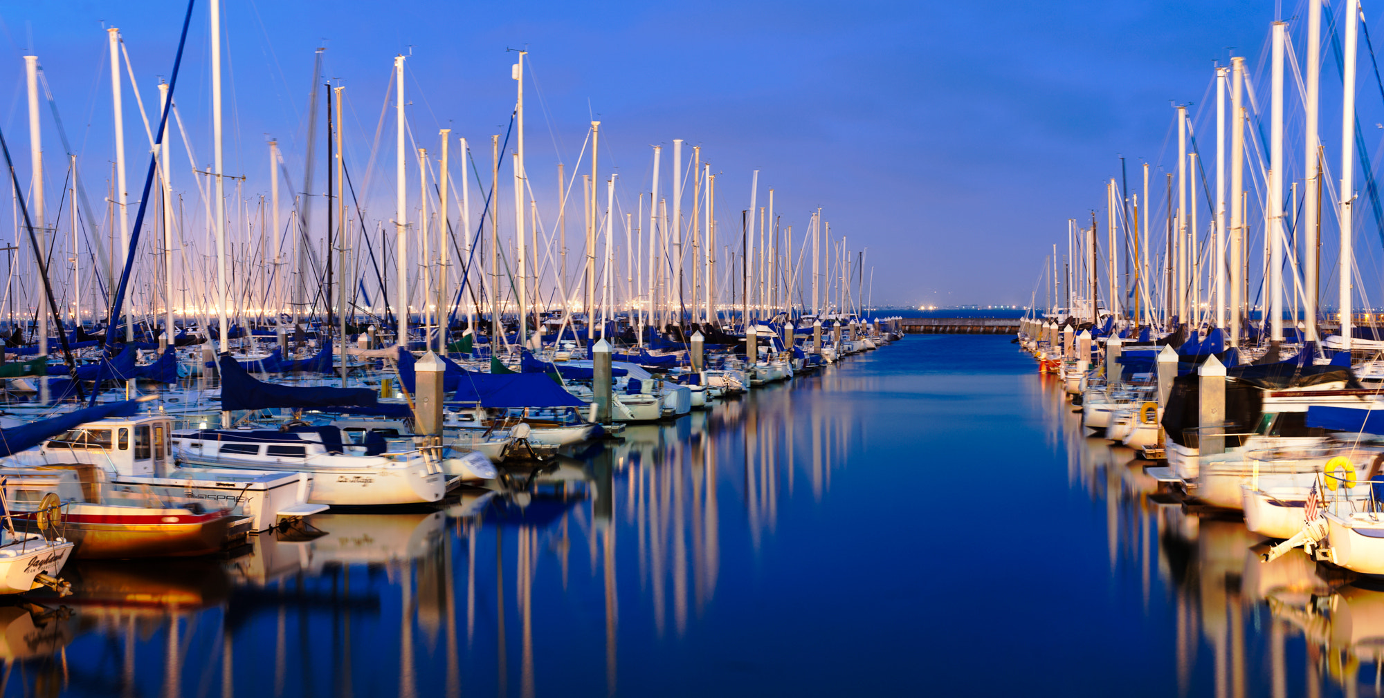 Photograph McCovey Cove at Blue Hour, San Francisco, CA by Craig Hudson on 500px