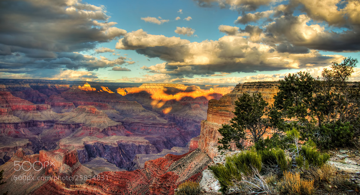 Photograph De GRAND CANYON PANO by Ariel Patish on 500px