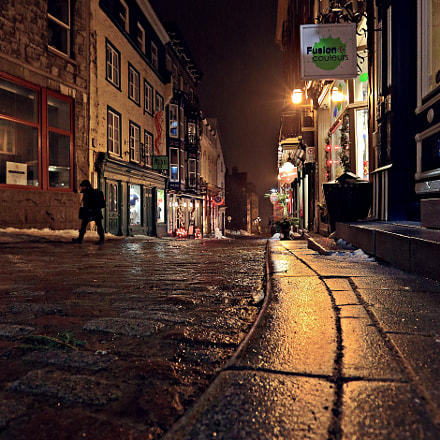 Old Quebec, Canon EOS 5D MARK III, Canon EF 16-35mm f/2.8L II