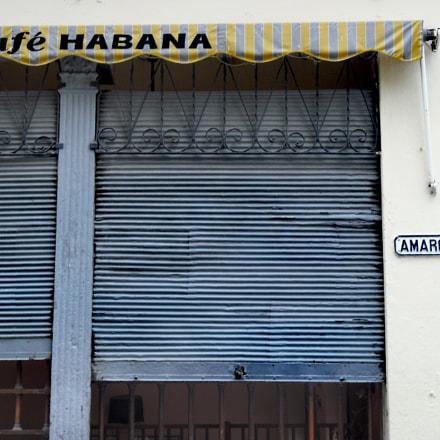 Café Habana. Calle Amargura, Fujifilm FinePix J10