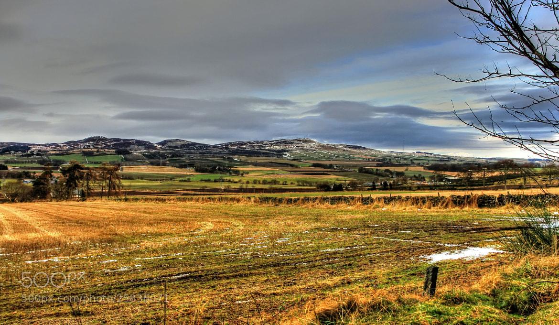 Photograph Sidlaws Hills  by Hilda Murray on 500px
