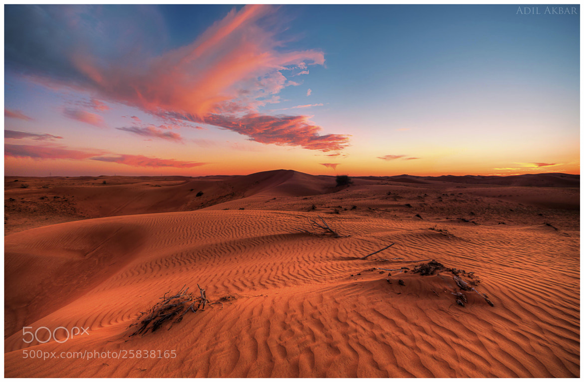 Photograph Sand & Sky  by Adil Akbar on 500px