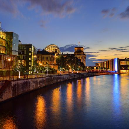 Bundestag Sunset, Nikon D600, AF-S Nikkor 18-35mm f/3.5-4.5G ED