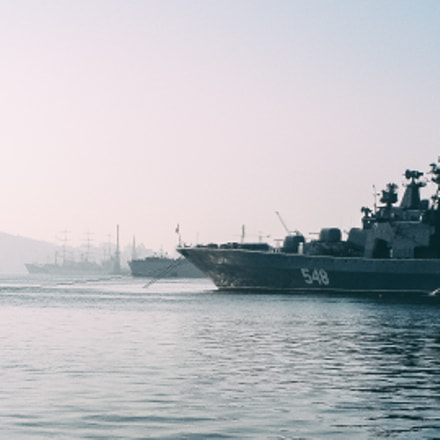 Vladivostok's harbour, Sony DSC-T9