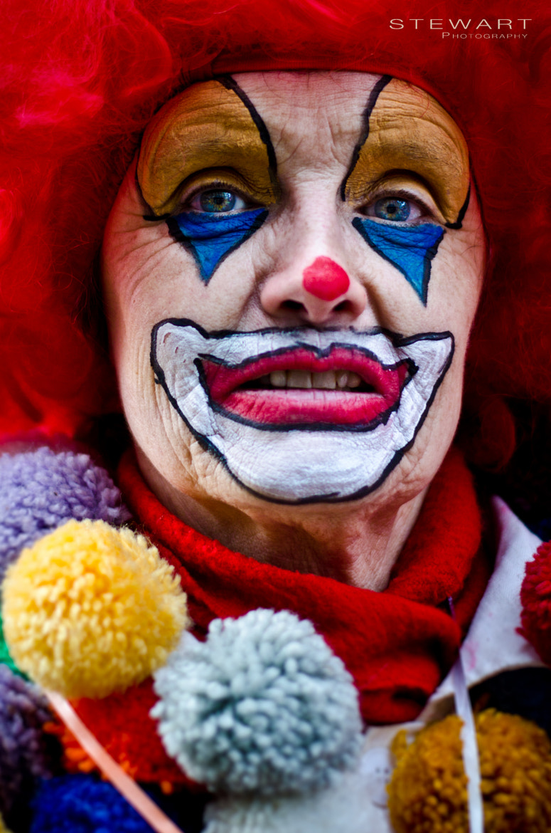 Photograph Old Carnival Clown by Lukas Stewart on 500px