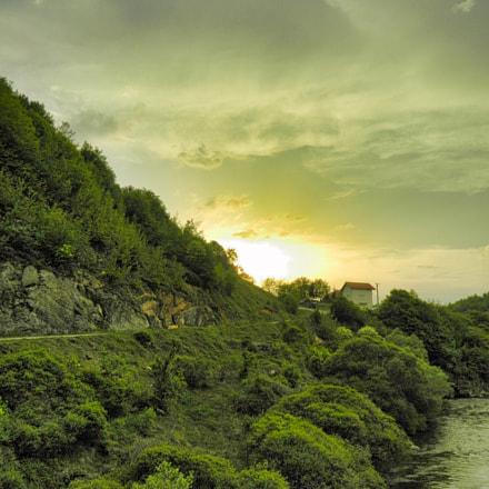 Warm Sunset, Nikon COOLPIX L310
