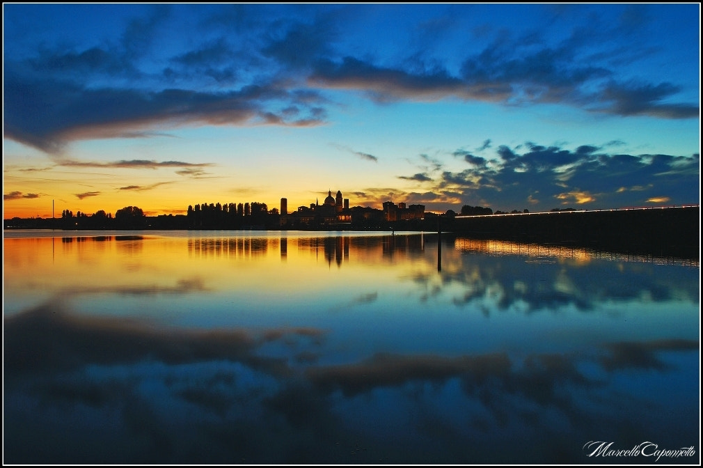 Photograph Sunset at mirror by Marcello Caponnetto on 500px