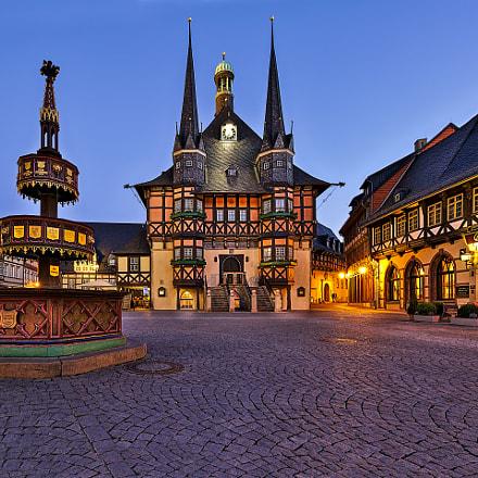 Rathaus Wernigerode, Canon EOS 5D MARK III