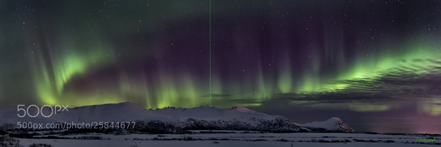 Photograph Northern light Panorama by Torje Strand on 500px