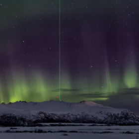 Northern light Panorama by Torje Strand (torje)) on 500px.com